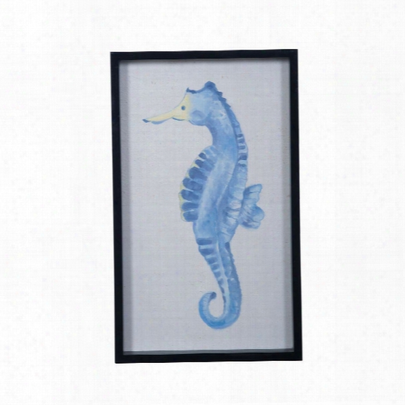 Seahorse Art Design By Lazy Susan