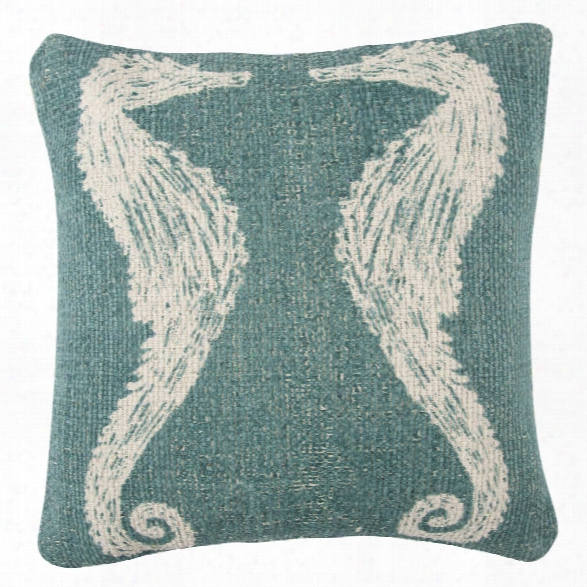 Seahorse Sketch Grain Sack Pillow Design By Thomas Paul