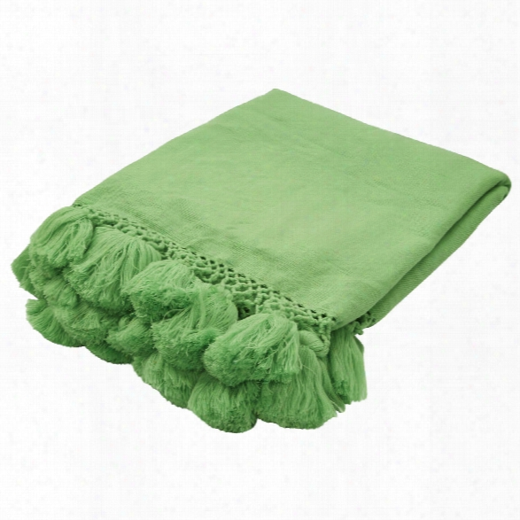 Seaport Throw In Picnic Green Design By Kate Spade