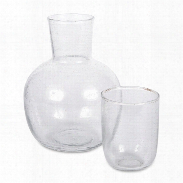 Seeded Glassware Carafe Design By Sir/madam