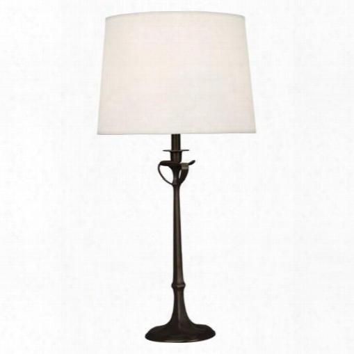 Seine Table Lamp In Deep Patina Bronze Design By Jonathan Adler