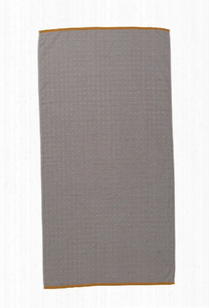 Sento Bath Towel In Grey Design By Ferm Living