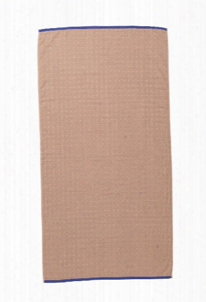 Sento Bath Towel In Rose Design By Ferm Living