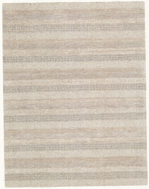 Sequoia 100% New Zealand Wool Area Rug In Ash Design By Calvin Klein Home