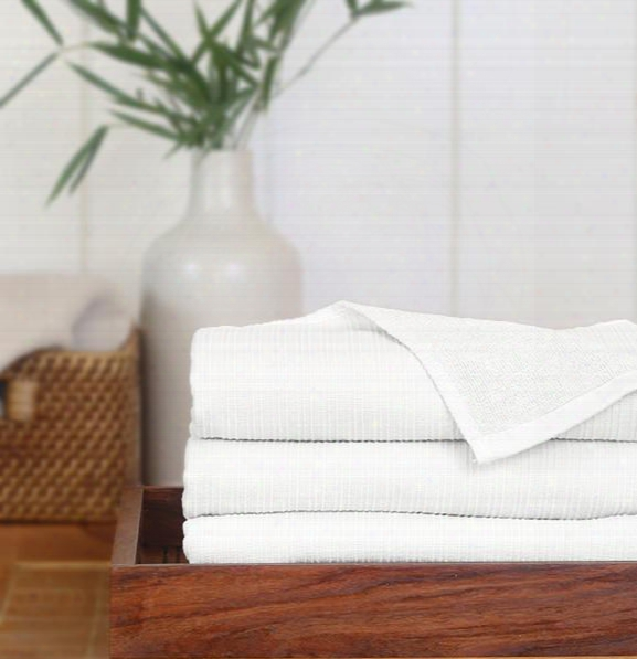 Set Of 3 Serene Hand Towels In Assorted Colors Design By Turkish Towel Company