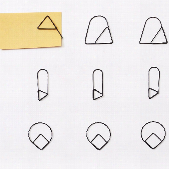 Set Of 30 Paper Clips Design By Areaware
