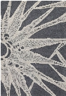 Seedling Collection Hand-Tufted Area Rug in Grey & Cream design by Chandra rugs