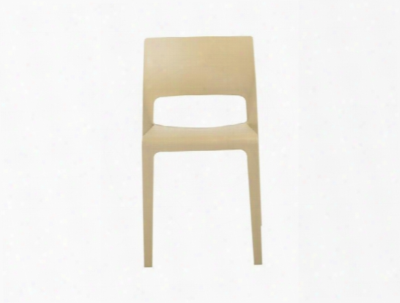 Set Of Four Kara Stacking Chairs Design By Euro Style