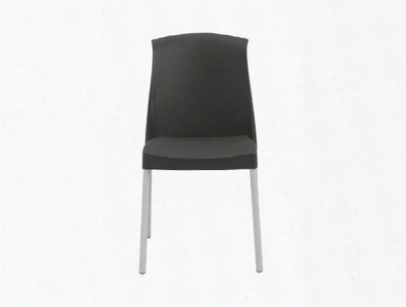 Set Of Six Jenny Side Chairs In Anthracite Design By Euro Style
