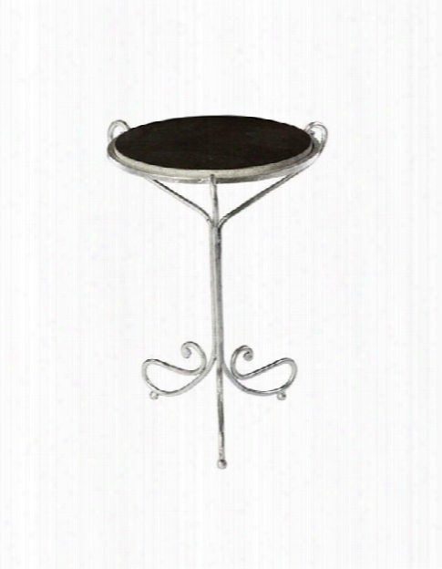 Set Of Two Avista Occasional Table In Silver Design By Aidan Gray