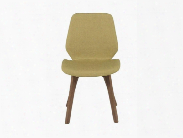 Set Of Two Beckett Side Chairs In Green Design By Euro Style