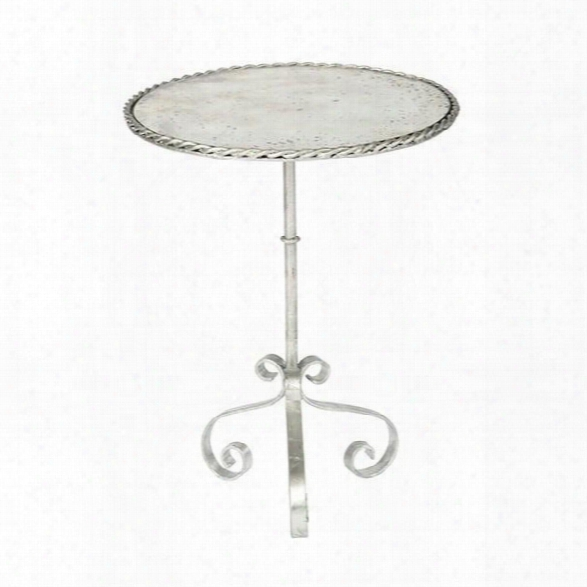 Set Of Two Bolden Occasional Table In Silver Design By Aidan Gray