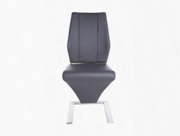 Set Of Two Formosa Side Chairs In Grey Design By Euro Style