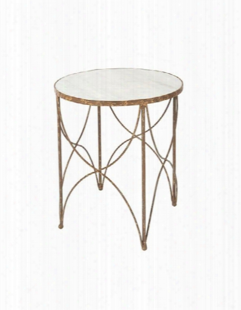 Set Of Two Halmstad Side Table In Rustic Storm Design By Aidan Gray