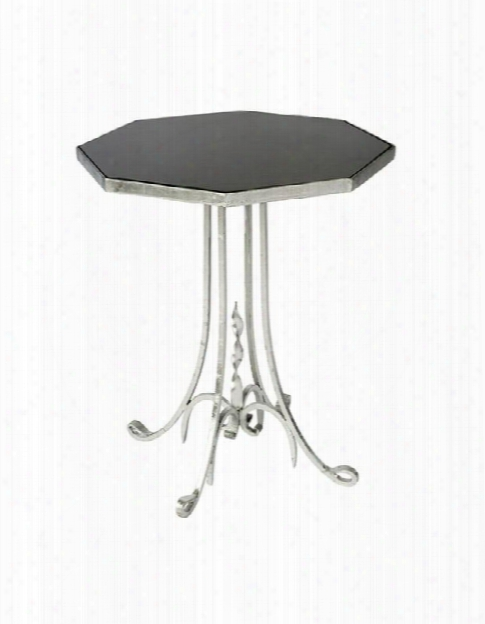 Set Of Two Lund Side Tables In Silver Design By Aidan Gray