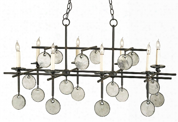 Sethos Rectangular Chandelier Design By Currey & Company