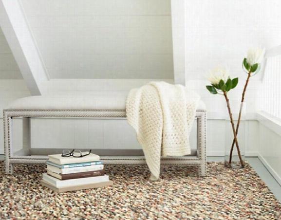 Seurat Neutral Wool Woven Rug Design By Dash & Albert
