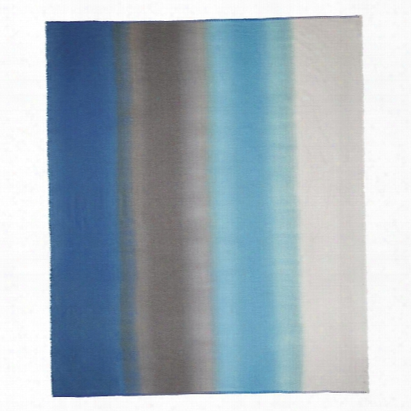 Severini Cobalt Throw Design By Designers Guild