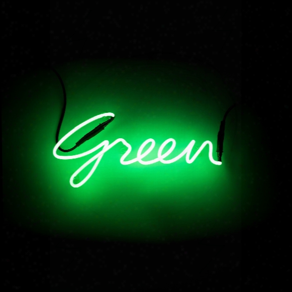 Shades Green Neon Lamp Design By Seletti