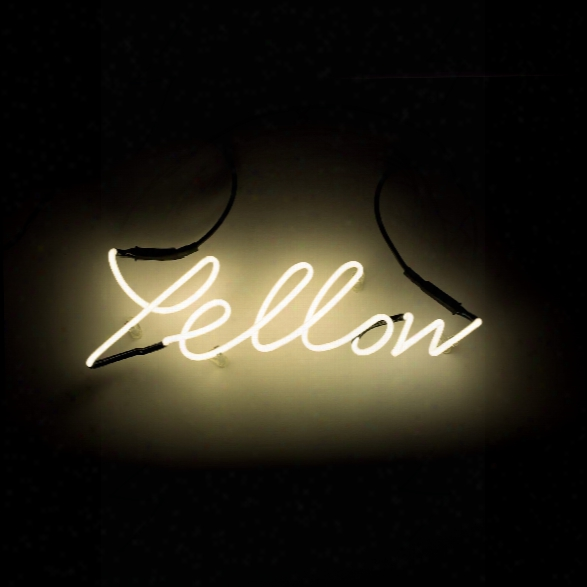 Shades Yellow Neon Lamp Design By Seletti