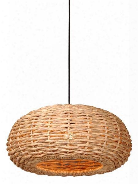 Shallow Round Hyacinth Pendant Light Design By Emissary