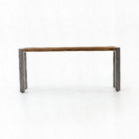 Shea Console Table In Reclaimed Old Elm
