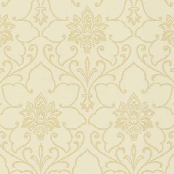 Sheffield Wallpaper In Beige And Gold By Ronald Redding For York Wallcoverings