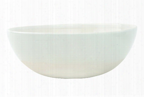 Shell Bisque Cereal Bowl In White Design By Canvas