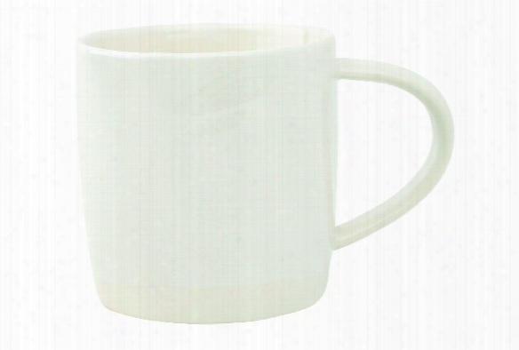 Shell Bisque Mug In White Design By Canvas
