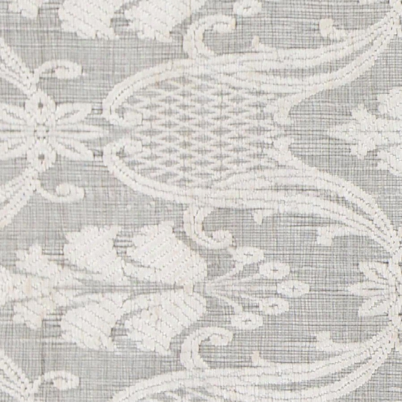 Shenaz Collection Hand-woven Area Rug In Ivory Design By Chandra Rugs