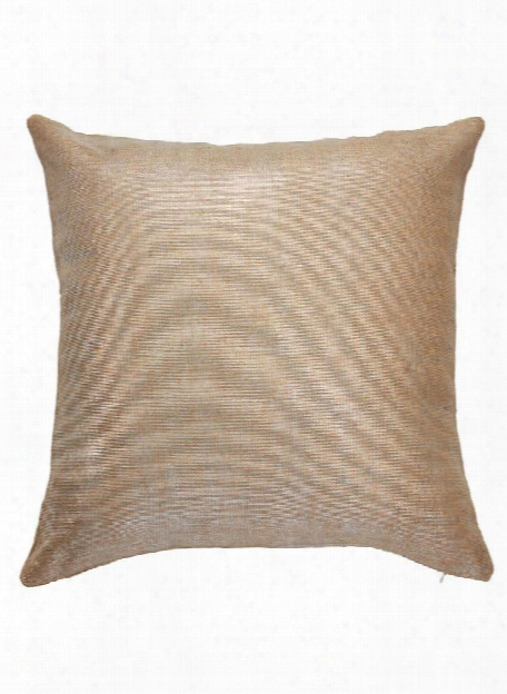 Shimmer Pillow In Incense & Silver Design By Jaipur