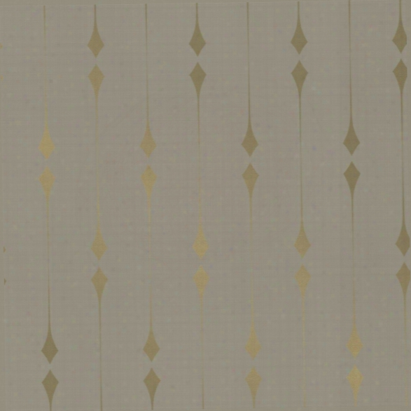 Shimmer Self Adhesive Wallpaper In Taupe And Metallic Gold Leaf By Tempaper