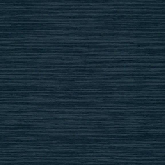Shining Sisal Faux Grasscloth Wallpaper In Dark Metallic Navy By York Wallcoverings