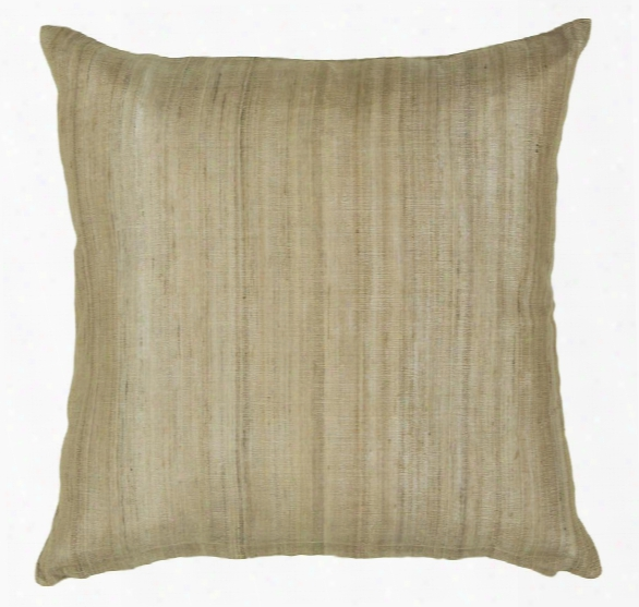 Silk Pillow In Natural Design By Chandra Rugs