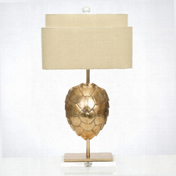 Silver Tortoise Table Lamp Design By Couture Lamps