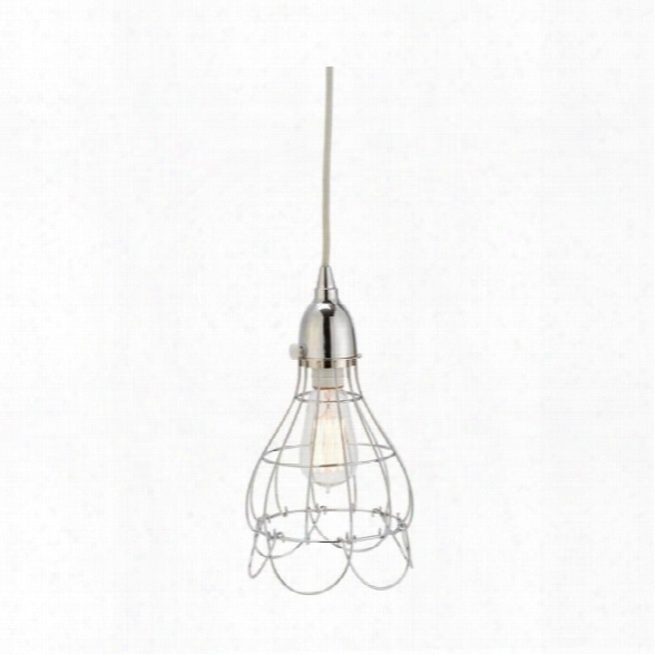 Silver Wire Rose Pendant Light Design By Lazy Susan