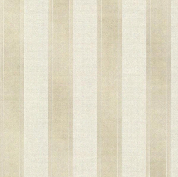 Simmons Beige Regal Stripe Wallpaper From The Avalon Collection By Brewster Home Fashions