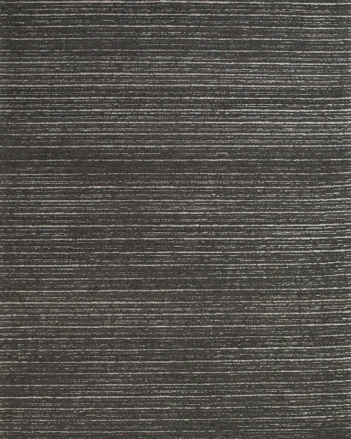 Simple Collection Hand Tufted Wool Area Rug In Graphite Design By Bd Fine