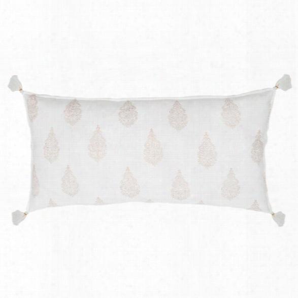 Siya Handblocked Pillow Design By Pom Pom At Home