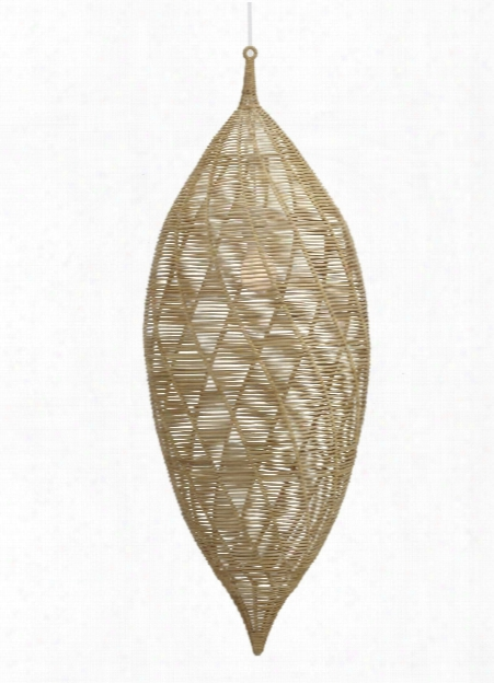 Small Calabash Hanging Pendant In Natural Design By Selamat