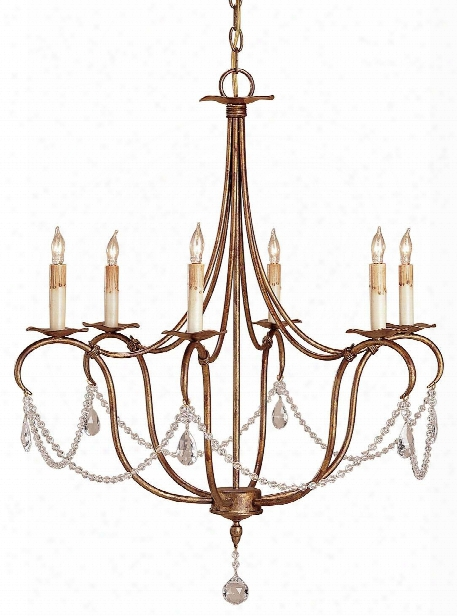 Small Crystal Light Chandelier Design By Currey & Company