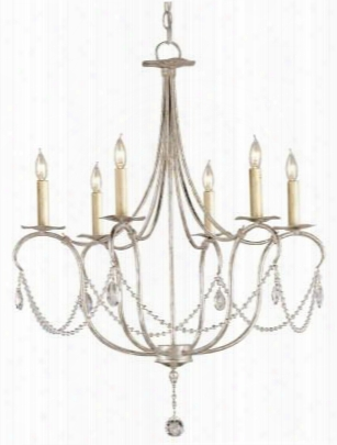 Small Crystal Lights Chandelier Design By Currey & Company