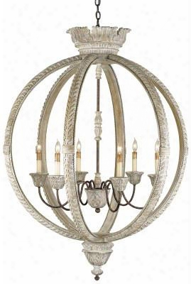 Small Dauphin Chandelier Design By Currey & Companyy