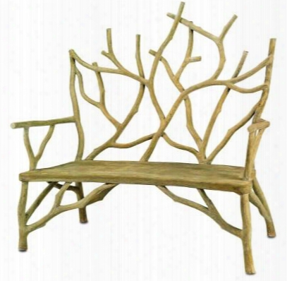 Small Elwynn Bench Design By Currey & Company