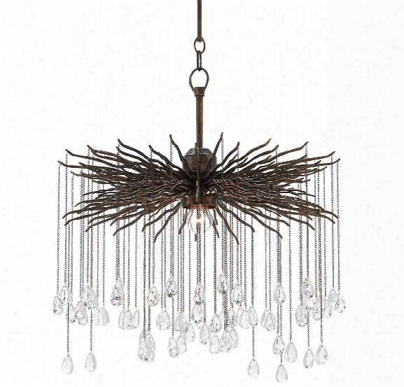 Small Fen Chandelier Design By Currey & Company