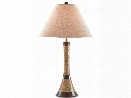 Shenai Table Lamp in Natural Jute design by Currey & Company
