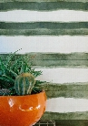 Shibori Stripe Wallpaper in Olive from the Shibori Collection by Milton & King
