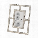 Silver Bamboo Frame (4x6) design by Lazy Susan