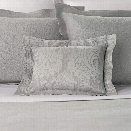 Simone Zinc Decorative Pillow design by Luxe