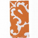 Sindoor Orange Napkins Set of Four design by Allem Studio
